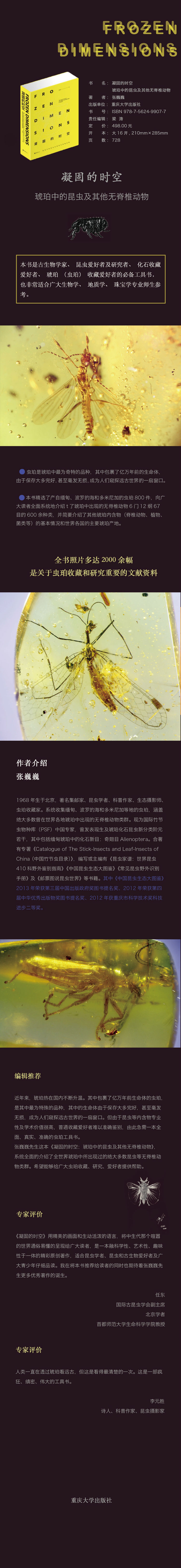 凝固的時空:琥珀中的昆虫及其他无脊椎動物
