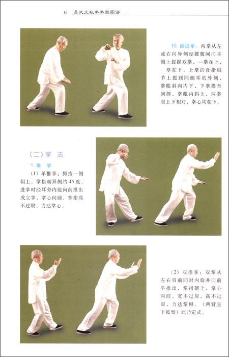 呉式太極拳拳照図譜