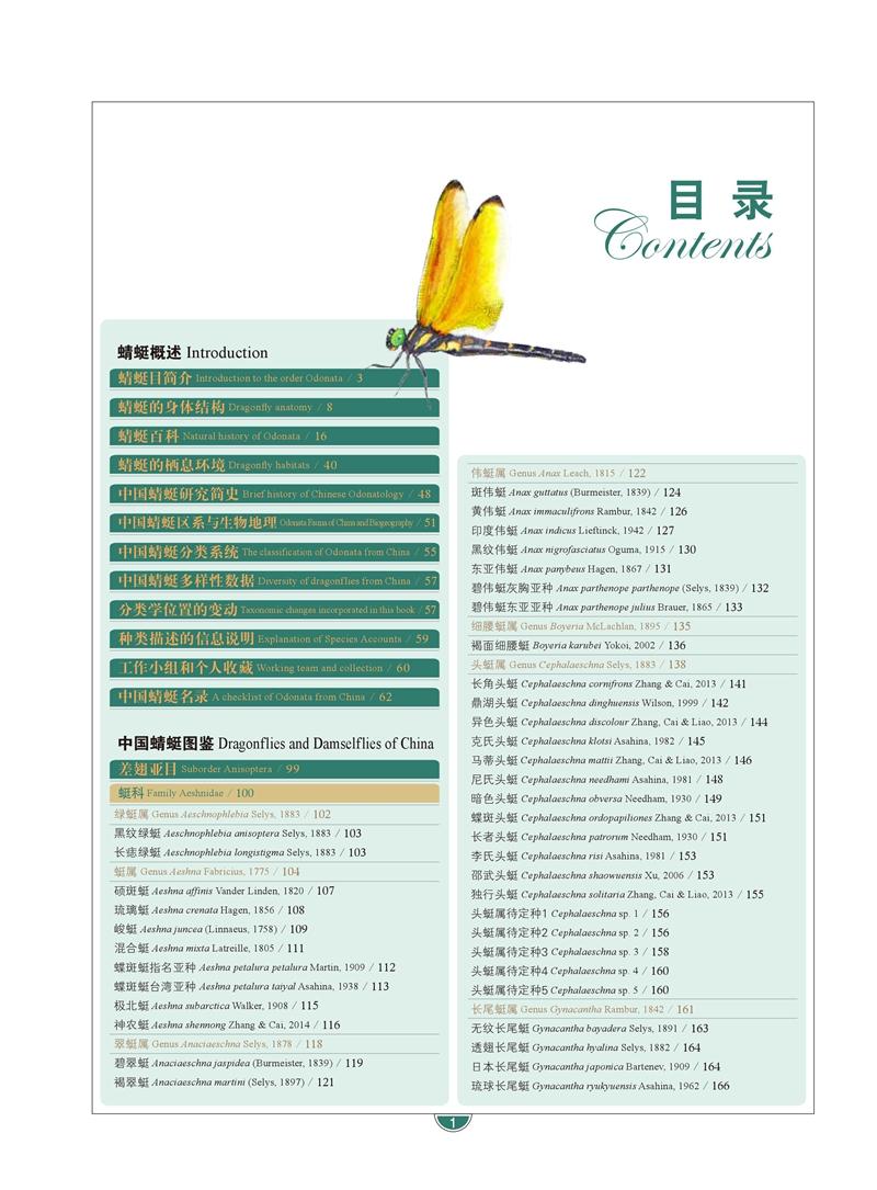 中国蜻[虫廷]大図鑑 (上下冊)